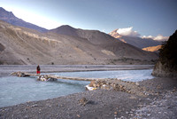 Crossing the Kali river